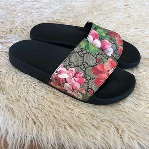 GG blooms supreme slide sandal